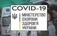В Украине зарегистрировано 21 584 тыс. случая заражения коронавирусом