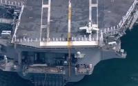 На вооружение ВМС США поступил самый дорогой в мире авианосец