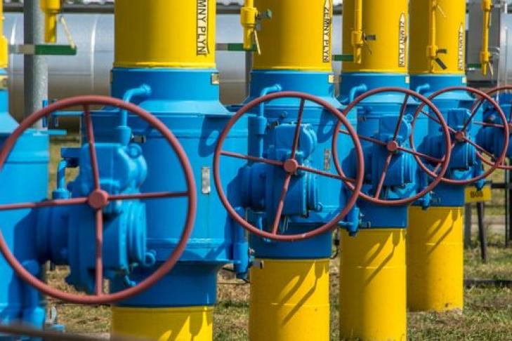 Украина наполовину заполнила газом свои подземные хранилища