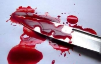 В Киеве жестоко зарезали мужчину (видео)