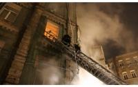 В центре Киева во время пожара в доме погиб один человек