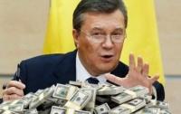 Со счетов Януковича могут снять арест