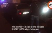 Масштабное ДТП в Киеве: столкнулись 4 машины и троллейбус