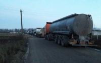 Люди Семенченко и Соболева заблокировали топливный терминал
