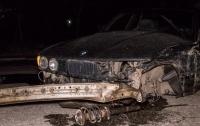 ДТП в Днепре: столкнулись BMW и Mercedes (видео)