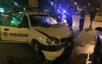 В Ровно полицейские попали в ДТП, есть пострадавшие (видео)