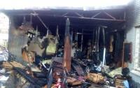 В Киеве произошел пожар в хостеле, шесть пострадавших