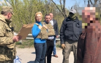 60 заключенных были вывезены с Донбасса на территроию Украины