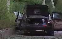 В Харькове взорвалось авто директора фармкомпании