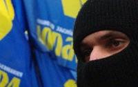 «Свободовцы» открыли под Майданом курс молодого бойца