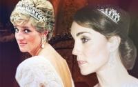 Кейт Миддлтон впервые надела корону принцессы Дианы