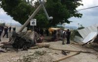 В страшном ДТП с грузовиком в Мексике погибли семь человек (видео)