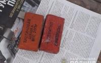 На автобусной остановке нашли взрывчатку (видео)