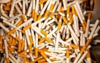 В Украине сократилось производство сигарет