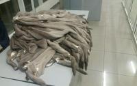Украинец не довез 200 килограммов ценного меха