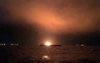 Сгоревшие в Керченском проливе танкеры занимались незаконной деятельностью