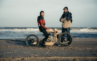 Создан деревянный мотоцикл, работающий на водорослях (видео)