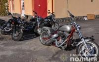 Почти 30 похищенных в ЕС элитных мотоциклов нашли в Черновцах
