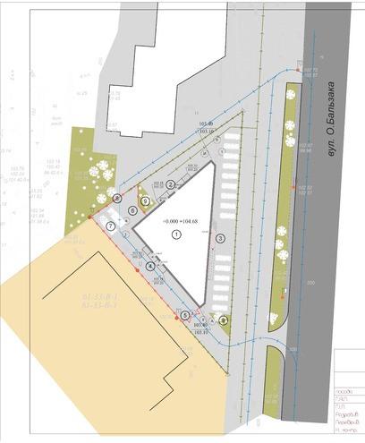 План-схема строительства