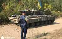На Черниговщине военный попал под танк