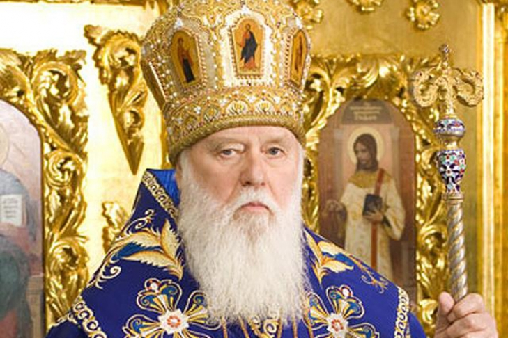 Руководитель Киевского патриархата готов обсудить объединение православных церквей вУкраинском государстве
