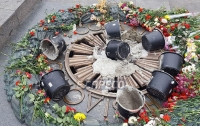 Ветераны АТО решили поставить караул у Вечного огня в Киеве