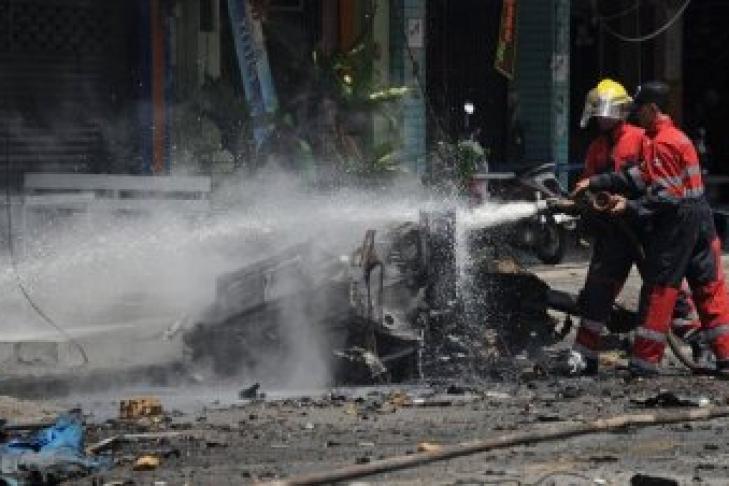 СМИ проинформировали ожертвах ипострадавших всерии взрывов вТаиланде