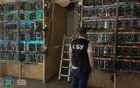 На Черниговщине обезвредили криптоферму: Без света могли остаться водоканал и