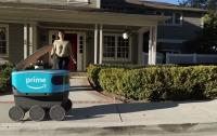 Американская технологическая компания Amazon начала использовать роботов для доставки товаров