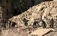 В Одессе обвалился жилой дом (фото)