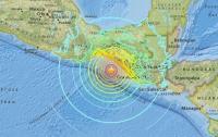 У берегов Мексики произошло землетрясение магнитудой 8