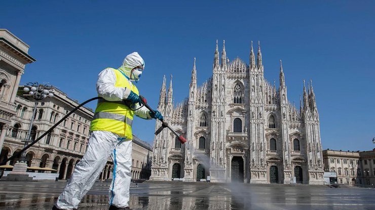 В Италии ввели трехдневный локдаун на Пасху