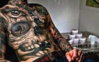 Учёные: Чернила для татуировок могут вызвать рак