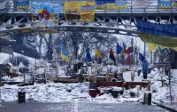 «Беркут» начал штурм верхней баррикады Майдана, метро закрыто