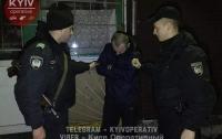 В Киеве задержали грабителя МАФов (видео)