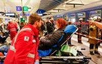 На вокзале в Австрии столкнулись два поезда, 35 пострадавших