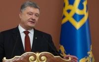 Порошенко прокомментировал идею снятия санкций с России