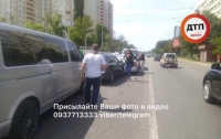 Масштабная авария в Киеве: серьезно пострадал ребенок