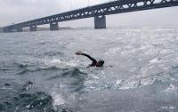 Украинец пересек вплавь Средиземное море