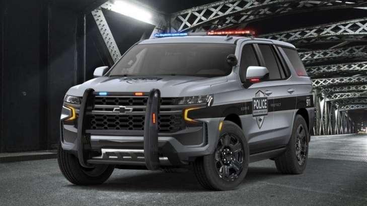 Новый Chevrolet Tahoe получил версии для полиции