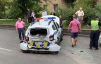 Полиция попала в ДТП по пути на неотложную задачу (видео)