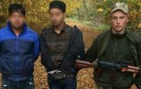 На Закарпатье со стрельбой задержали контрабандистов из Индии