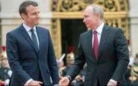 Макрон пообщался с Путиным по поводу Навального, но безрезультатно