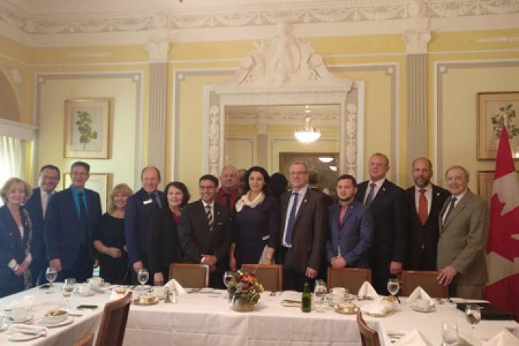 Новый этап сотрудничества— Канада иУкраина