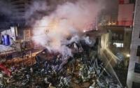 Японский ресторан взорвался вместе с людьми