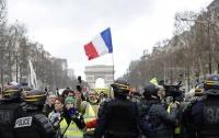 Протесты во Франции: полиция задержала около двухсот митингующих