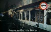 ЧП в Киеве: сгорело 250 кв.м Демеевского рынка