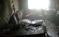 Пожар в Запорожье: у многодетной семьи сгорела квартира