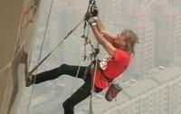 Человека-паука схватили на 75-этаже 123-этажного сеульского небоскреба