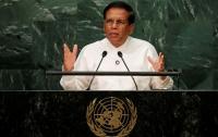 Президент Шри-Ланки приостановил работу парламента